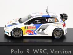 Volkswagen VW Polo #1 WRC Version 2014 Ogier / Ingrassia 1:43 Spark