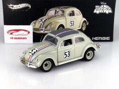 Volkswagen VW Coléoptère #53 Herbie Année 1962 1:18 HotWheels Elite