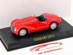 Ferrari 125 S Year 1947 scuderia red  1:43 Ixo Altaya