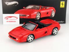 Ferrari F355 Spider Année 1994 rouge 1:18 HotWheels Elite