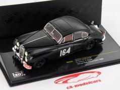 Jaguar MKVII #164 Winner Rally Monte Carlo 1956 Adams / Biggar 1:43 Ixo