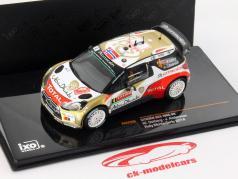 Citroen DS3 WRC #4 Rally Monte Carlo 2014 Ostberg / Andersson 1:43 Ixo