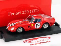Ferrari 250 GTO #19 2e 24h LeMans 1962 Noblet, Guichet 1:43 Brumm