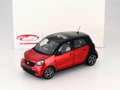 Smart forfour Coupe (W453) black / red 1:18 Norev