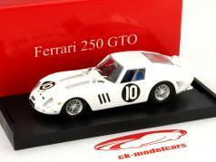 Ferrari 250 GTO #10 2e Tourist Trophy 1962 Hill 1:43 Brumm