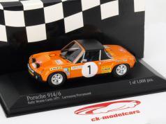 Porsche 914/6 #1 Rally Monte Carlo 1971 Larrousse, Perramond 1:43 Minichamps