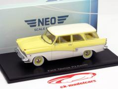 Ford P2 Turnier yellow / White 1:43 Neo