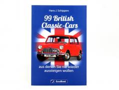Book: 99 British Classic Cars from Hans J. Schippers