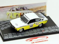 Opel Kadett GT/E #142 Rallye Modena 1979 M. Miki Biasion, T. Siviero 1:43 Altaya