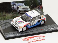 Peugeot 205 T16 E2 #1 1000 Lakes Rally 1986 1:43 Altaya