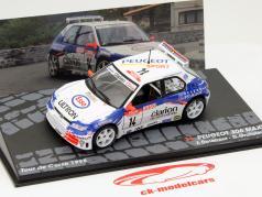 Peugeot 306 Maxi #14 Rallye Tour de Corse 1998 1:43 Altaya