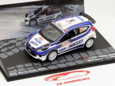 Ford Fiesta S2000 #2 Rally Monte-Carlo 2010 M. Hirvonen, Lehtinen 1:43 Altaya