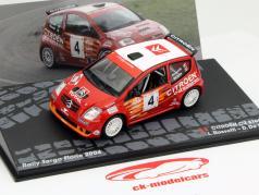 Citroen C2 S1600 #4 Rally Targa Florio 2004 1:43 Altaya