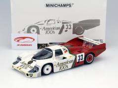 Porsche 956L #33 American 100's 24h LeMans 1985  1:18 Minichamps