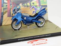 Batman Legends of the Dark Knight Batcycle bleu 1:43 Altaya