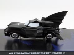 Batman Allstar Batman and Robin The Boy Wonder #1 black 1:43 Altaya