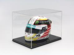 High quality showcase for helmets in scale 1:2 SAFE