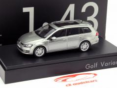 Volkswagen VW Golf VII Variant silver 1:43 Norev