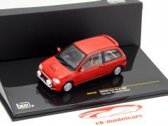 Subaru Vivio RX-R Test Car Year 1993 red 1:43 Ixo