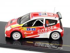 Citroen C2 S1600 #55 Winner Tour de Corse 2006 Tirabassi, Renucci 1:43 Ixo