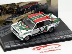 Fiat 131 Abarth #5 Rallye Acropolis 1978 Röhrl, Geistdörfer 1:43 Altaya
