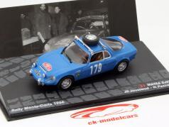 Matra Djet V #179 Rallye Monte Carlo 1966 Jaussaud, Pescarolo 1:43 Altaya
