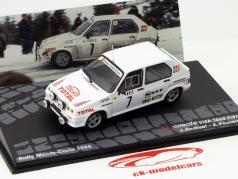 Citroen Visa 1000 Pistes #7 Rallye Monte Carlo 1985 Andruet, Peuvergne 1:43 Altaya