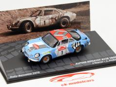 Alpino Renault A110 1800 #1 Rally Sanremo 1973 Therier / Jaubert 1:43 Altaya
