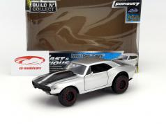 Roman's Chevrolet Camaro Pre-Painted Kit Fast and Furious 7 2015 silver 1:24 Jada Toys