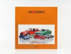 Maxichamps Katalog 1 / 2016