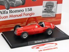 Juan Manuel Fangio Alfa Romeo 158 #1 formula 1 1950 1:43 Altaya