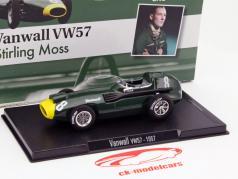 Stirling Moss Vanwall VW57 #8 formule 1 1957 1:43 Altaya