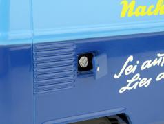 Volkswagen VW T1b transporter Nürnberger Nachrichten year 1959-1963 blue / yellow 1:18 Schuco