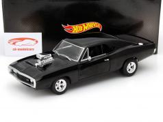 Dodge Charger RT out the Movie Fast and Furious 2001 black 1:18 HotWheels