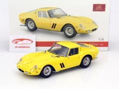 Ferrari 250 GTO Year 1962 yellow 1:18 CMC