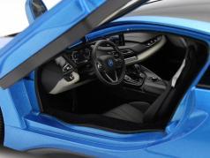 BMW i8 (i12) Année 2014 bleu métallique 1:18 ParagonModels