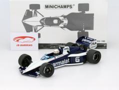 Riccardo Patrese Brabham BT52 #6 formula 1 1983 1:18 Minichamps