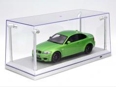 Unique vitrine argent avec 4 LED Les lampes pour voitures modèles dans échelle 1:18 Triple9