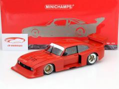 Ford Capri Turbo Gr.5 anno 1979 Plain Body Version rosso 1:18 Minichamps