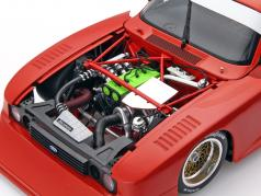 Ford Capri Turbo Gr.5 année 1979 Plain Body Version rouge 1:18 Minichamps