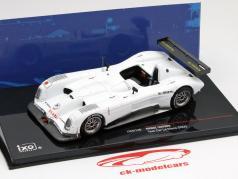 Panoz LMP900 car test 24h LeMans 2000 white 1:43 Ixo