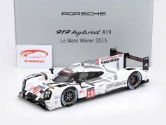 Porsche 919 Hybrid #19 vincitore 24h LeMans 2015 Hülkenberg, Tandy, Bamber 1:18 Spark