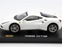 Ferrari 488 GTB weiß 1:43 Bburago Signature
