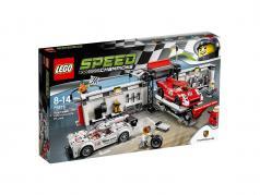 LEGO® Speed Champions Porsche 919 Hybrid et 917K avec Pitlane