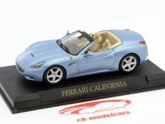 Ferrari California Year 2008 light blue metallic 1:43 Altaya