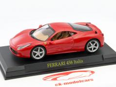 Ferrari 458 Italia Year 2009 red 1:43 Altaya