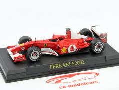 Michael Schumacher Ferrari F2002 #1 formula 1 World Champion 2002 1:43 Altaya