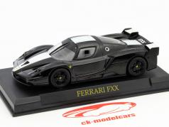 Ferrari FXX Year 2005-2006 black / white 1:43 Altaya