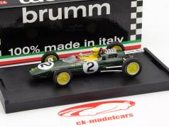 Trevor Taylor Lotus 25 #2 Belgium GP F1 1963 with figure 1:43 Brumm