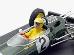 Trevor Taylor Lotus 25 #2 Belgique GP F1 1963 avec figure 1:43 Brumm
